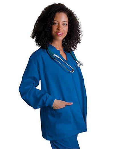 Adar Uniforms Abrigo Laboral Para Mujeres (XXS-5X). Distintos colores y tallas