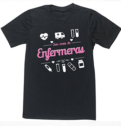 Camiseta con el mensaje: Son cosas de enfermeras