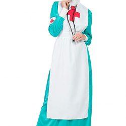 Disfraz enfermera mangas largas