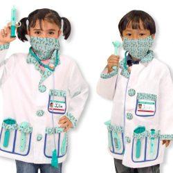 Disfraz enfermera-medico