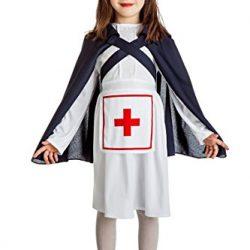 Dizfraz infantil enfermera segunda guerra mundial