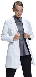 Dr. James Bata de Laboratorio Elegante Para Mujeres a Medida