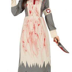 Enfermera con sangre