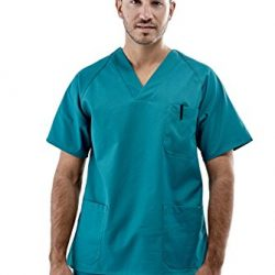 Pijama sanitario completo verde