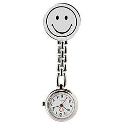 Reloj Emoticono Sonriendo de Bolsillo para Las Enfermeras