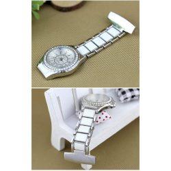 Reloj cuarzo blanco