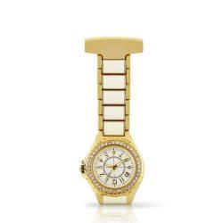 Reloj cuarzo color oro