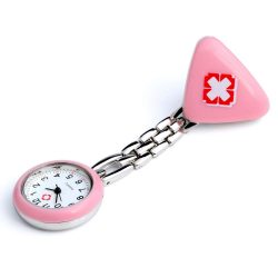 Reloj de solapa rosa