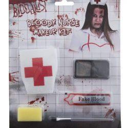 Set de maquilleje halloween enfermera zombie
