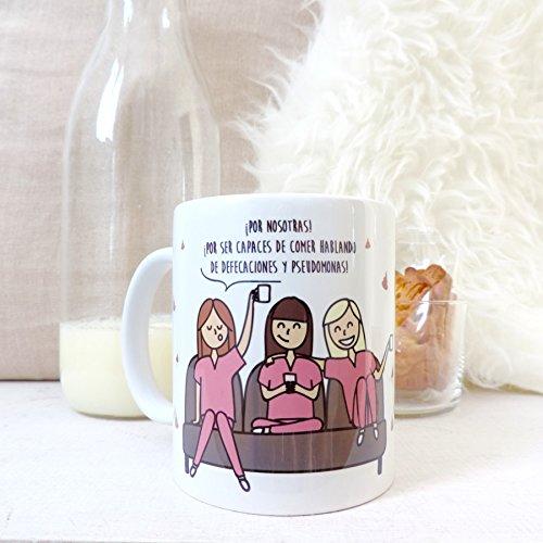 Taza de brindis por las enfermeras