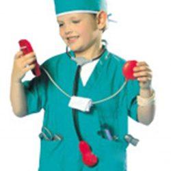 disfraz quirofano para niños