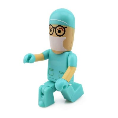 16 GB pendrive enfermera médico cirujano USB Flash Drive Memory Stick Green Doctor 16 gb