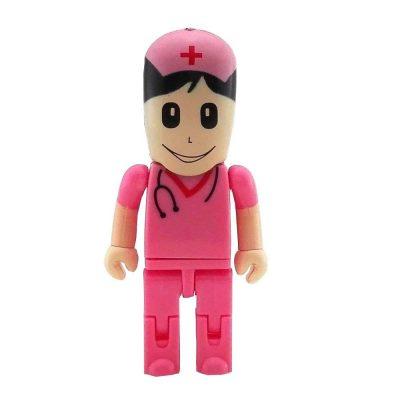 16 GB pendrive enfermera rosa
