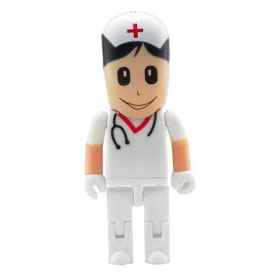 32 GB Pendrive blanco sombrero enfermera Hospital para mujer