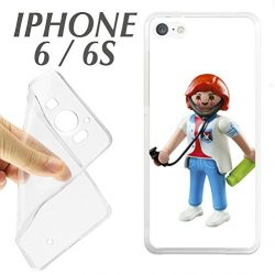 CARCASA IPHONE 6 6S PLAYMOBIL MEDICO ENFERMERO URGENCIAS HOSPITAL