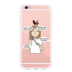 Funda iPhone ¿donde está la enfermera? Carcasa Gel Silicona