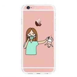 Funda iPhone Enfermera en apuros Enfermero, Carcasa Gel Silicona Medicina Doctora Doctor para iPhone