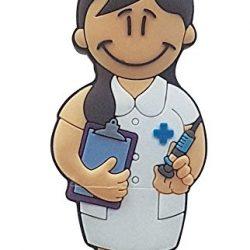 USB Pendrive Enfermera de 16 GB en Lata con Abre fácil